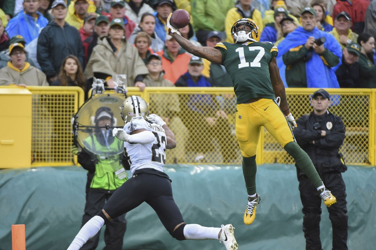 NFL: New Orleans Saints at Green Bay Packers