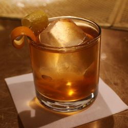An Old Fashioned made the Michael Martensen way.