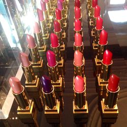 Up bright and early after the party to get a sneak peek of YSL's newest launches (like Pop Water, a lip stain with a jelly-like texture) and refresh of a few cult classics such as Rouge Pur Couture Lipstick and Touche Éclat.