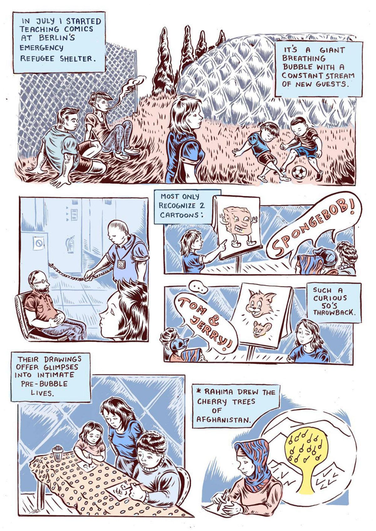 first page of ali fitzgerald comic