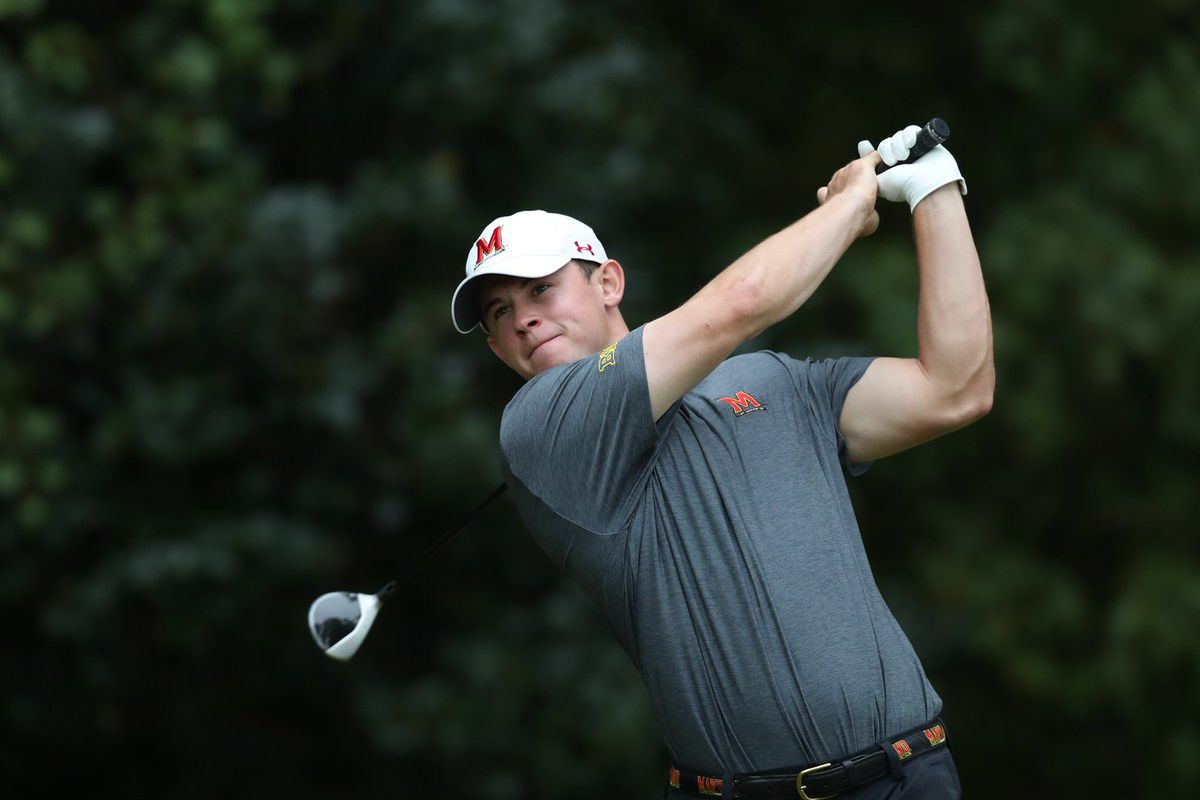 Maryland men's golf Evan Santa