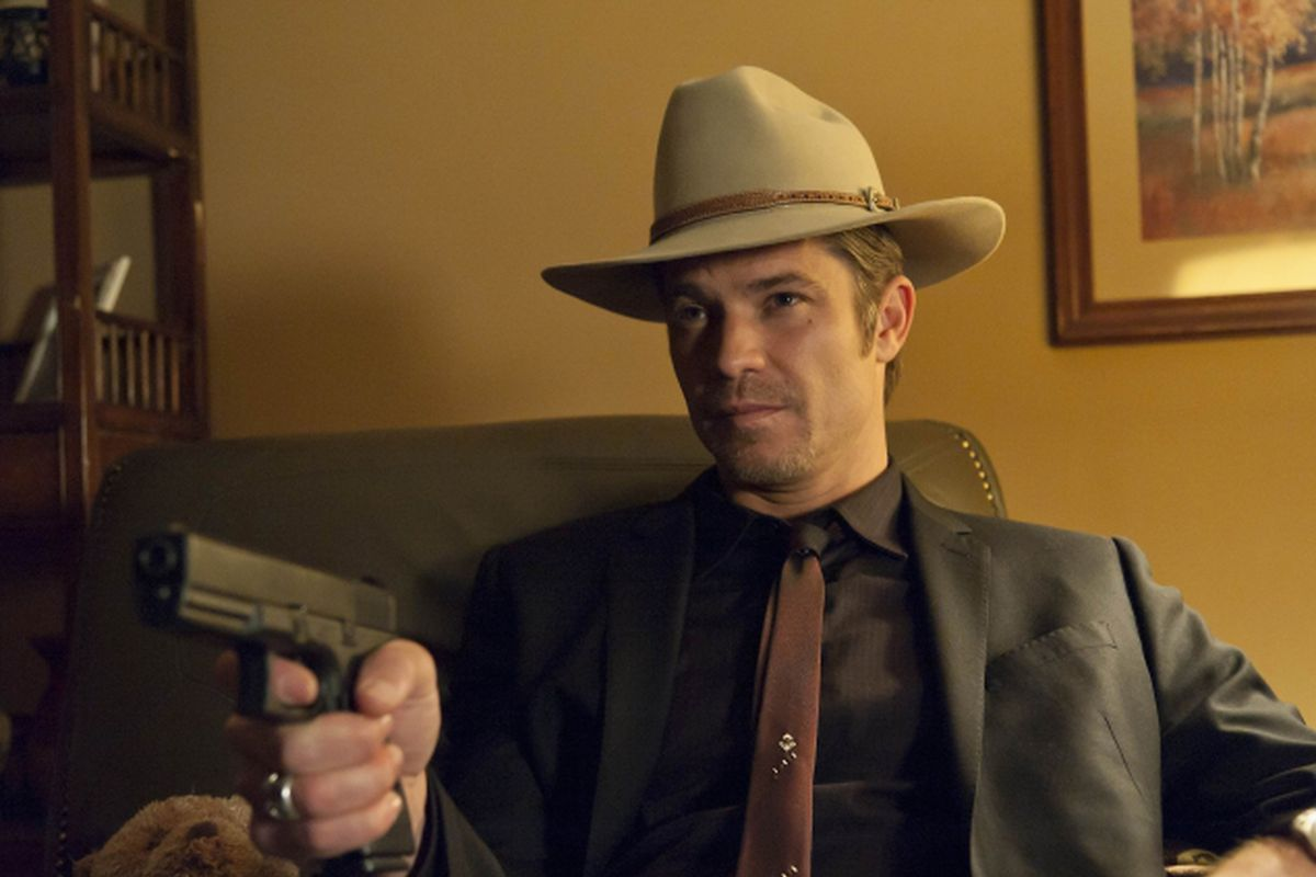 Timothy Olyphant as Deputy Raylan Givens in Justified