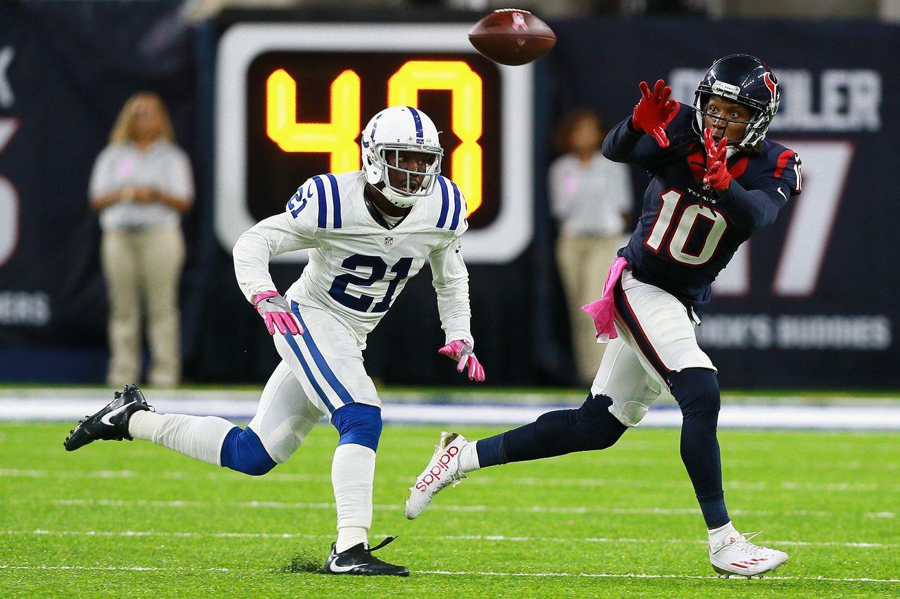 Vontae Davis has been one of the NFL's best cornerbacks over the last three seasons