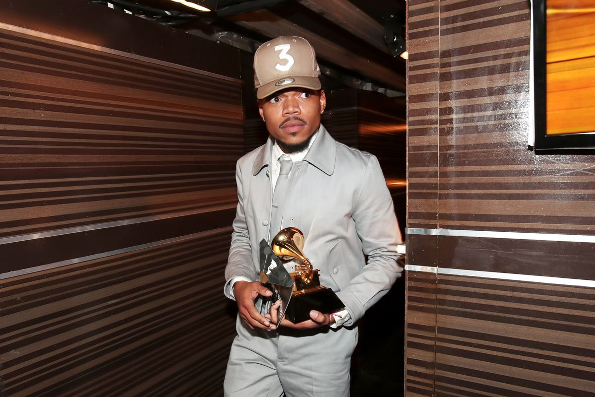 Chance The Rapper Performs At Grammys