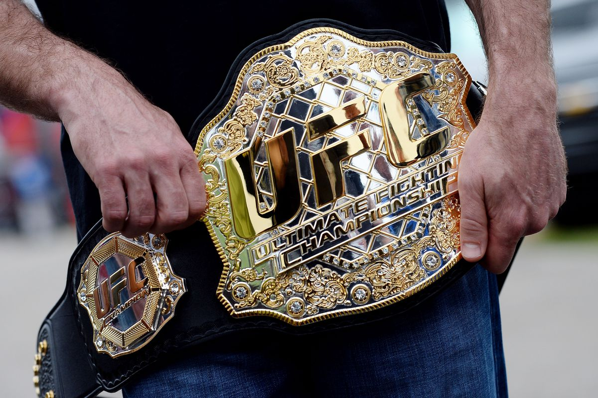 How much are UFC belts worth? About $300k apiece, according to one former champion