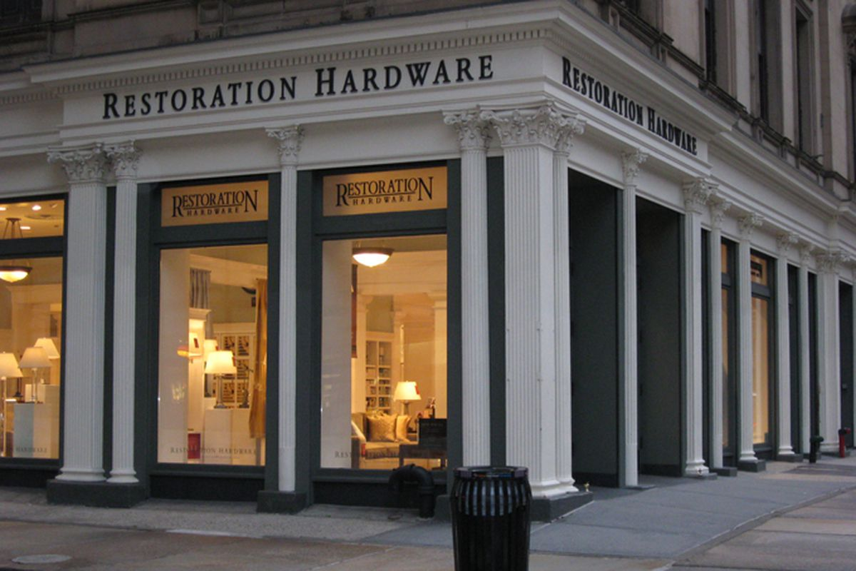 "Image via <a href=""http://www.visit5thavenue.com/restoration-hardware/"">Visit 5th Avenue</a>"