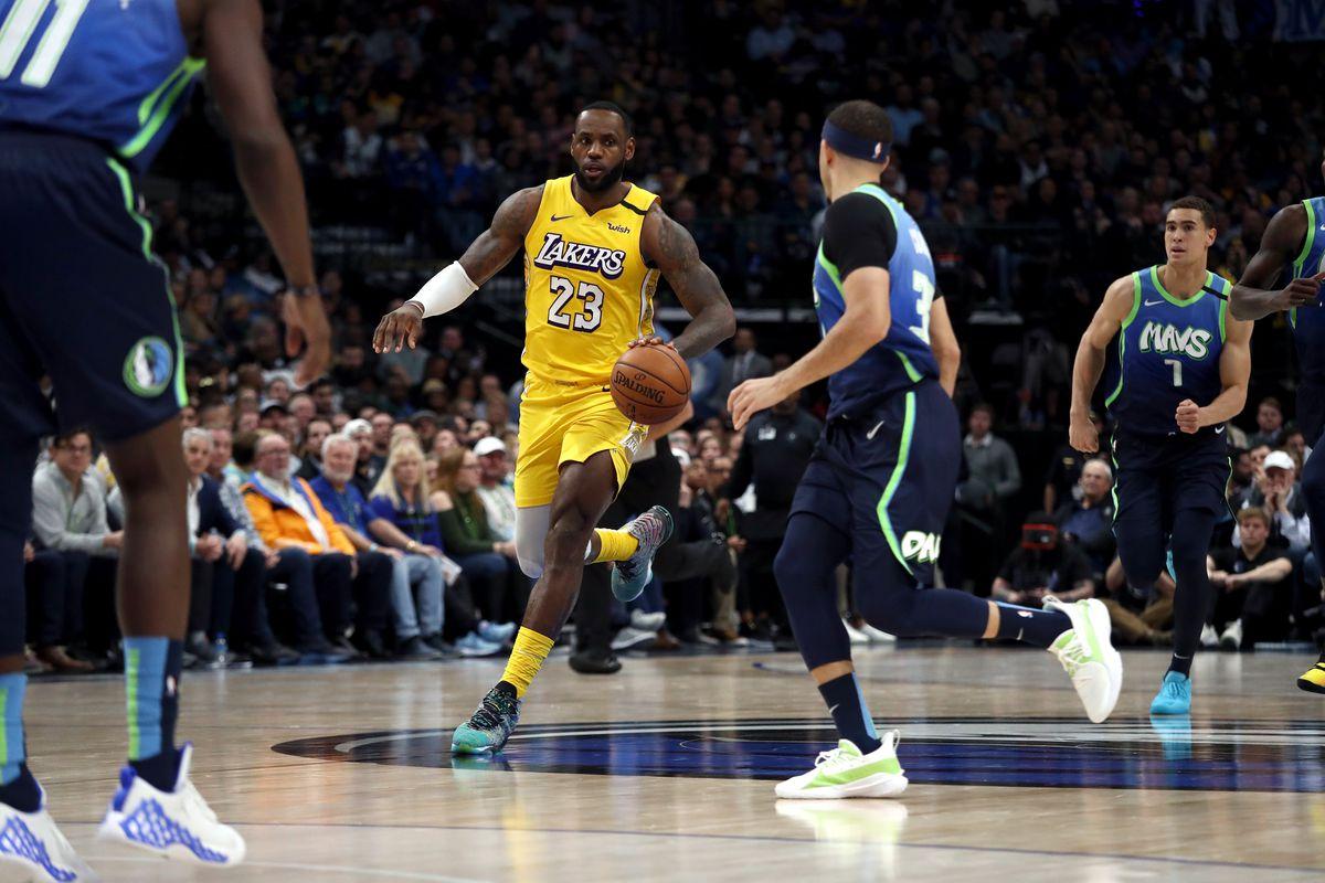 Lakers Vs Mavericks Final Score L A Limits Luka Doncic In