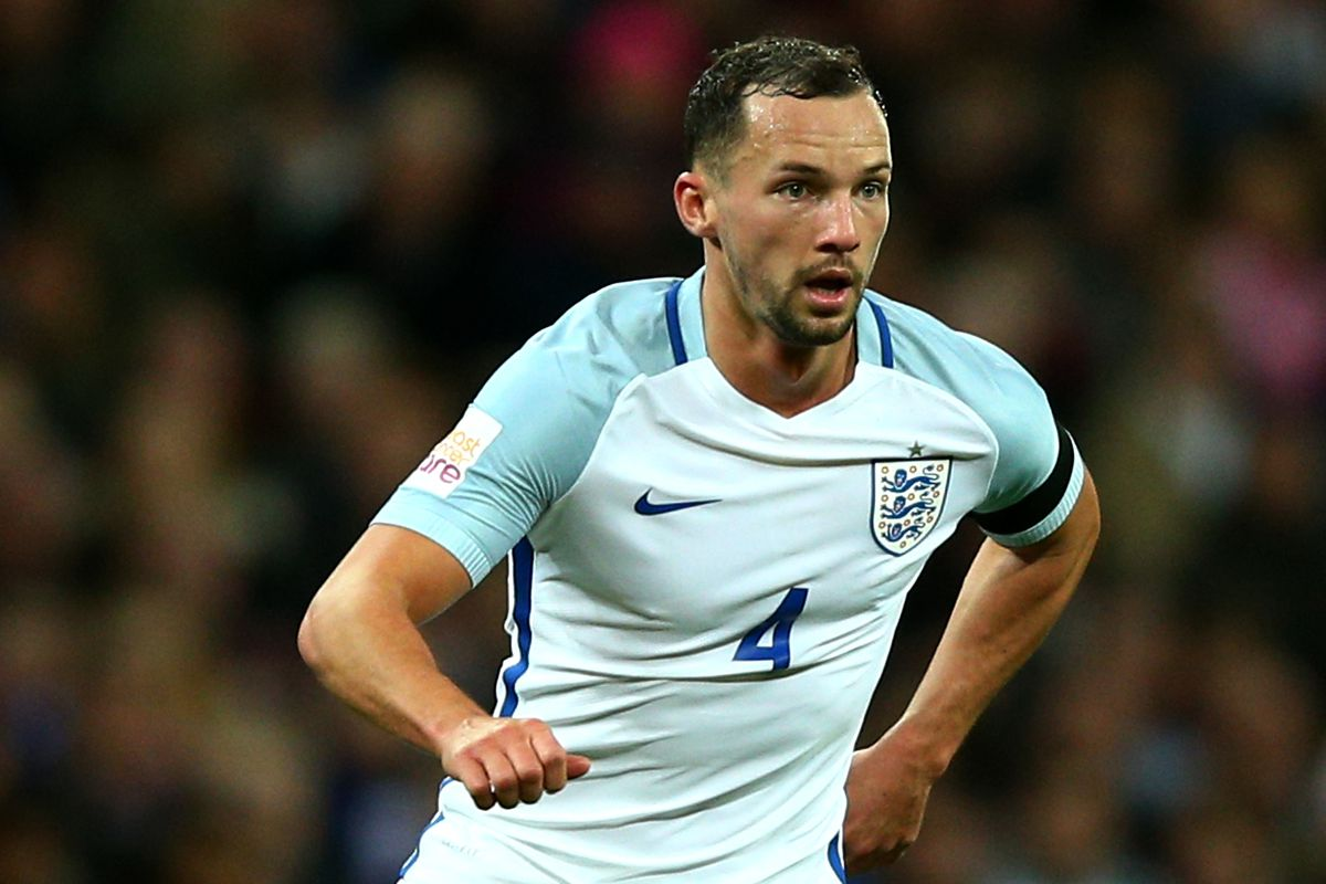 Danny Drinkwater on his full international debut for England.