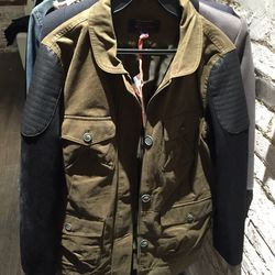 Utility jacket, $175