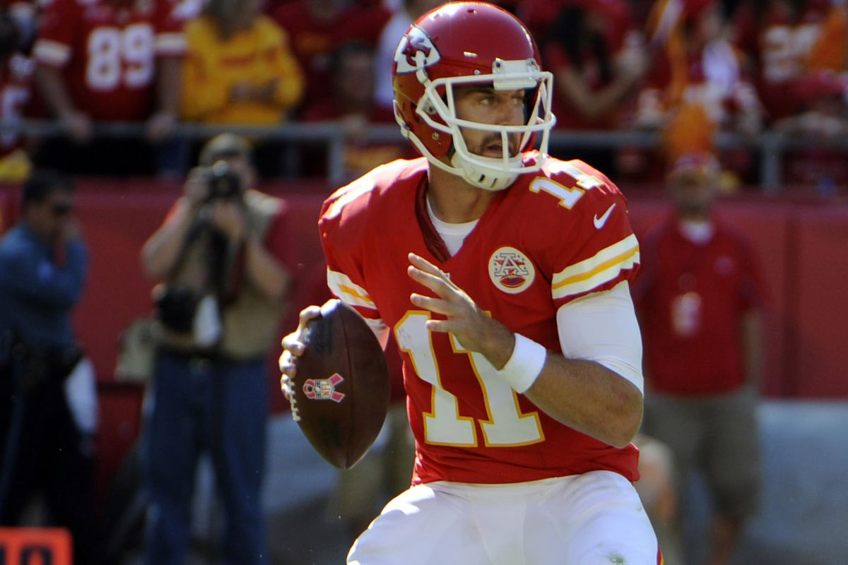 My, how far the Texans' QB situation has fallen that Alex Smith would (rightfully) be a big upgrade.