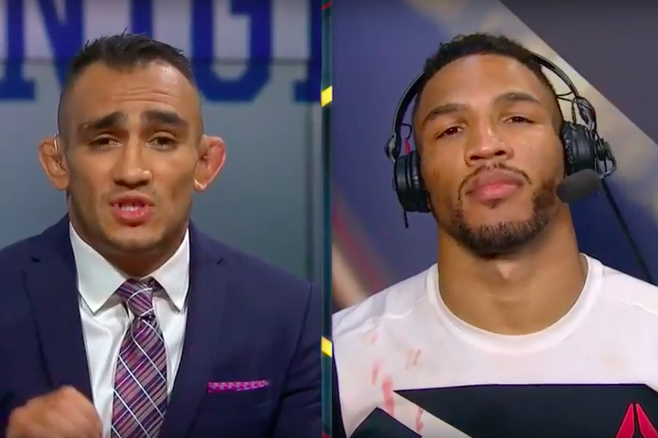 community news, 'Can we put a real journalist on?': Tony Ferguson, Kevin Lee go back and forth in TV argument