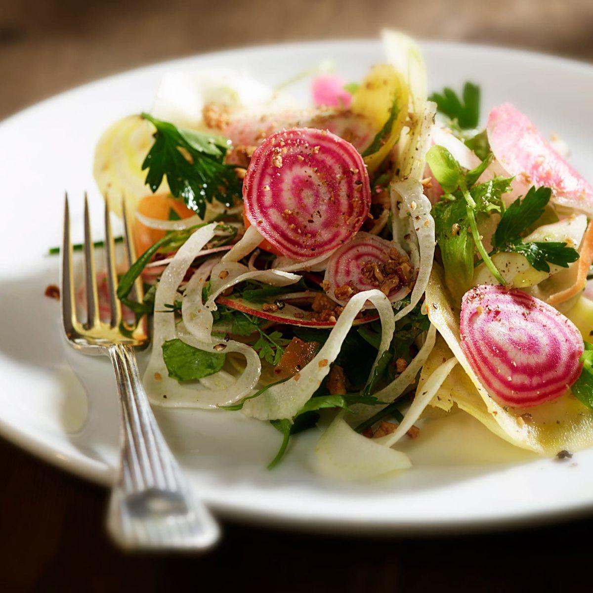 Salad at RH Marin