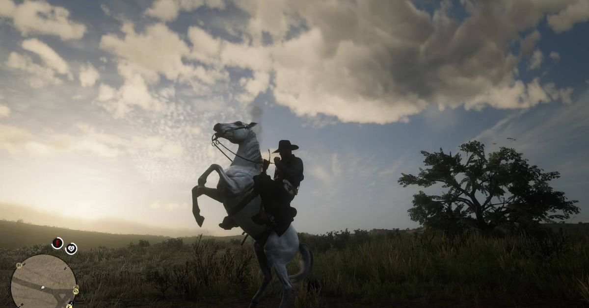 Red Dead Redemption 2 best horse guide: the white Arabian - Polygon