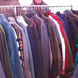 A glimpse of the menswear samples