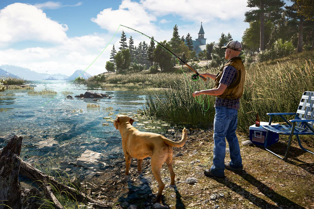 Far Cry 5 Launch Trailer Reveals U.S. Setting