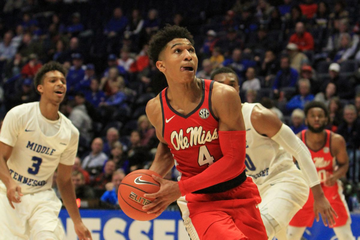 COLLEGE BASKETBALL: DEC 21 Ole Miss v Middle Tennessee