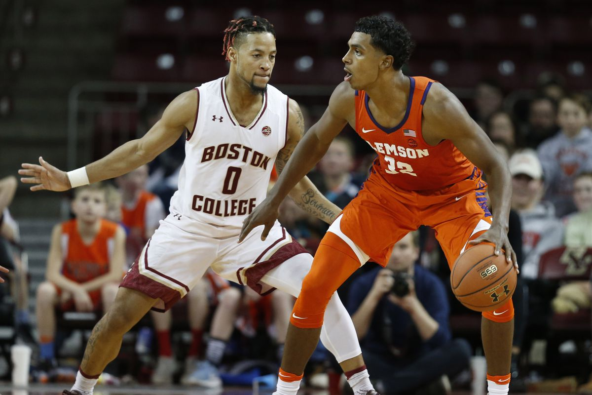NCAA Basketball: Clemson at Boston College