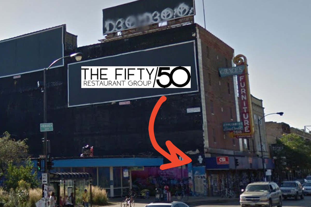 Fifty 50 Group Could Be Heading To Logan Square Google Eater Chicago