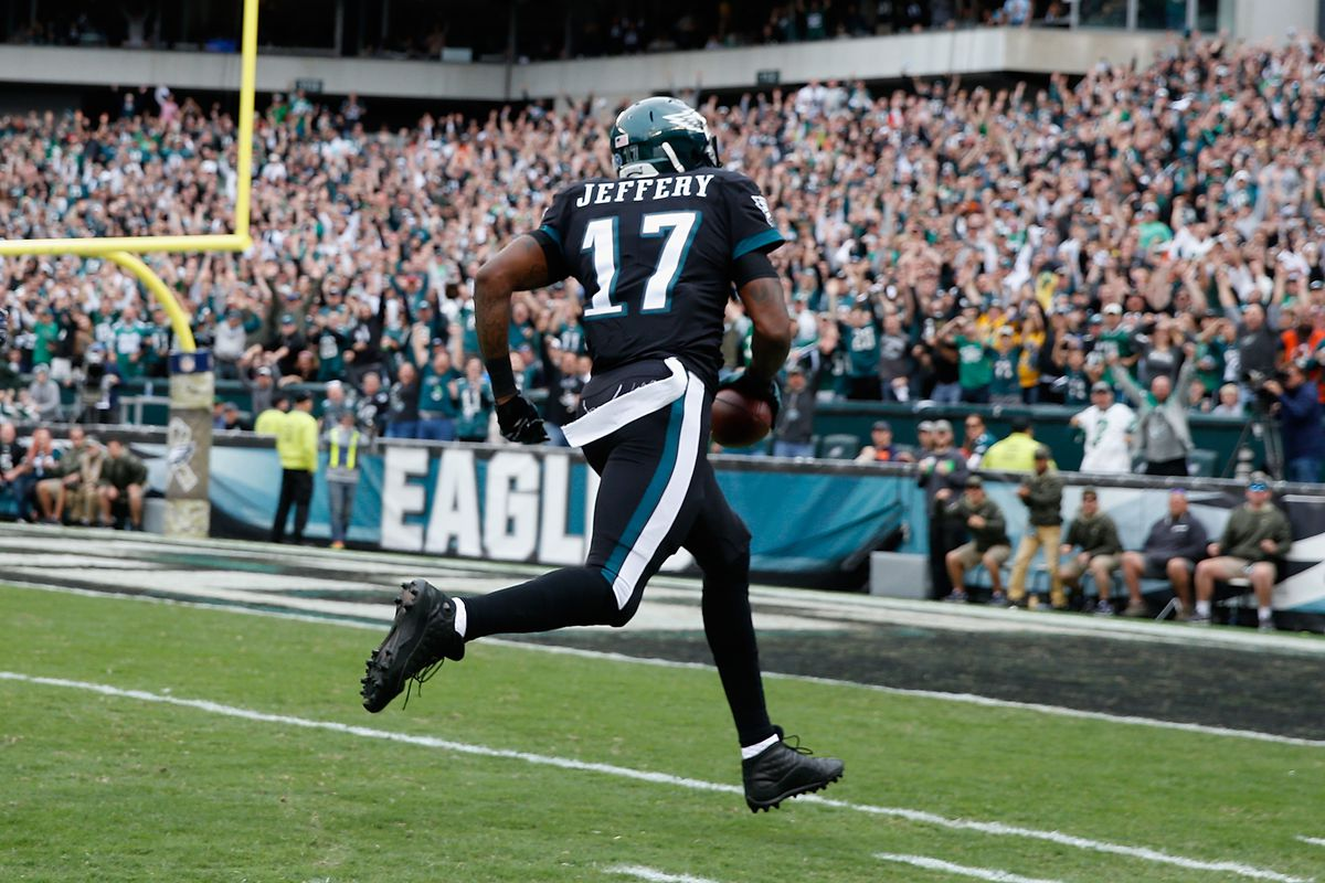 cheaper 84606 e5553 Alshon Jeffery just made $250,000 with a touchdown against ...