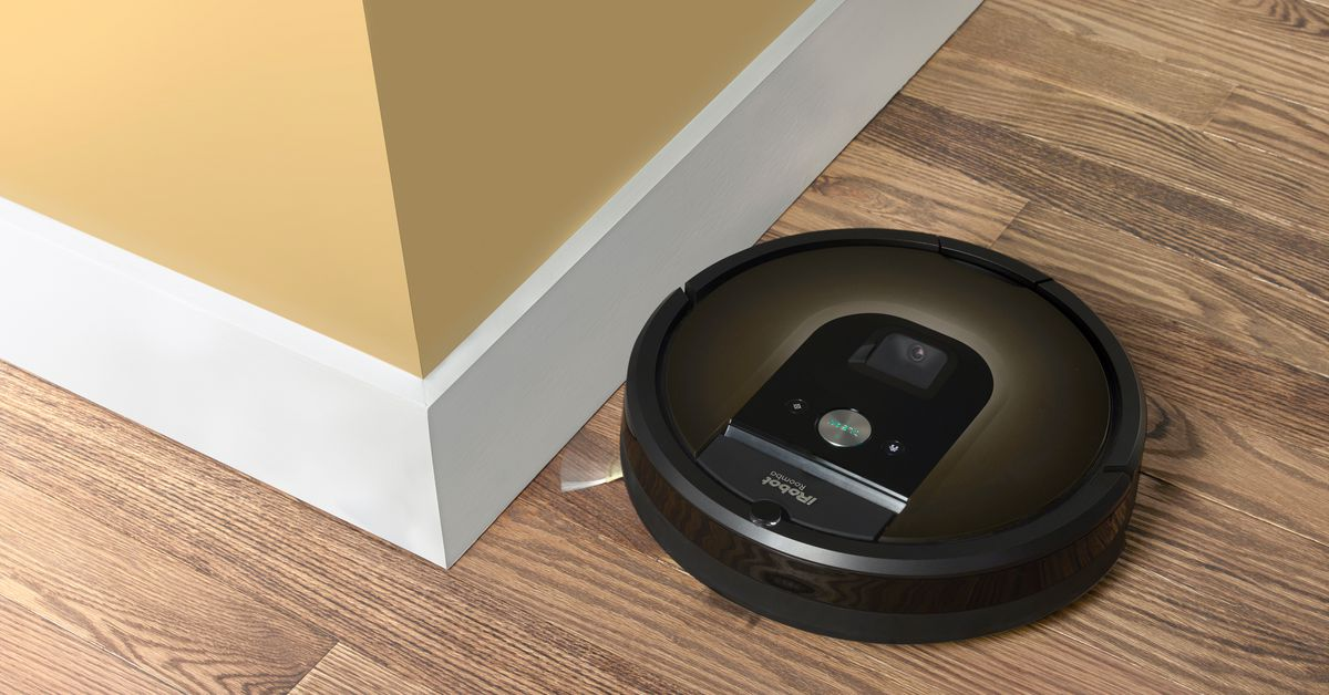 Need to trap the Roomba?  You don't need anything more sophisticated than a rug