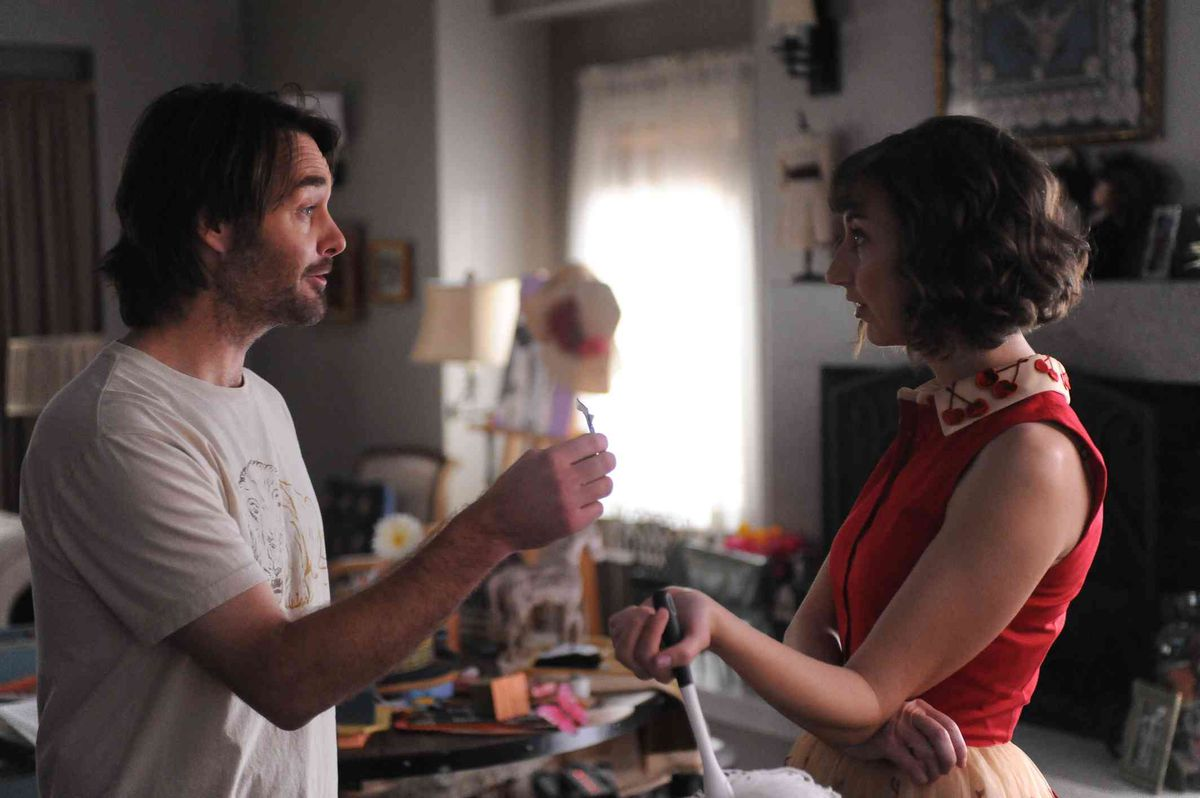 Phil and Carol have a chat on Last Man on Earth.