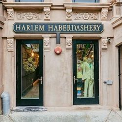 """<b>↑</b>Whether you're looking for bespoke suits for the guy in your life or mixed-print jersey dresses for yourself, absorb the red carpet vibes at <a href="""" http://www.harlemhaberdashery.com"""">Harlem Harberdashery</a></b> (245 Lenox Avenue). A favorit"""