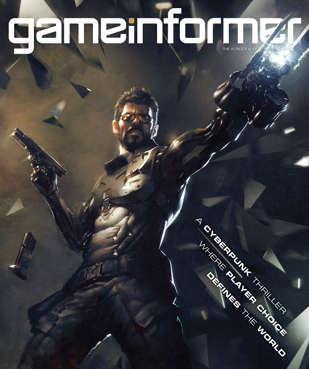 Deus Ex Game Informer cover