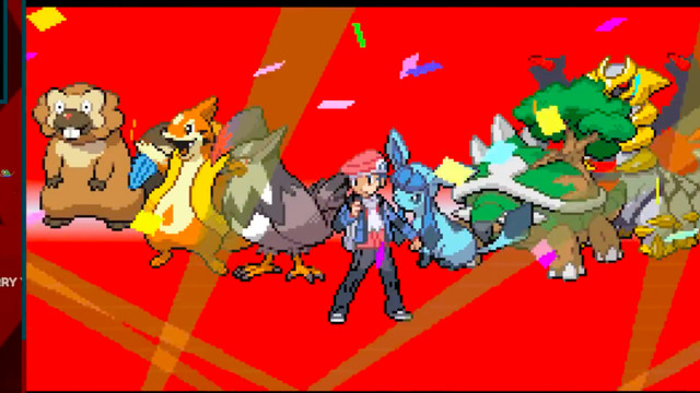 Smallant clearing Pokémon Platinum.