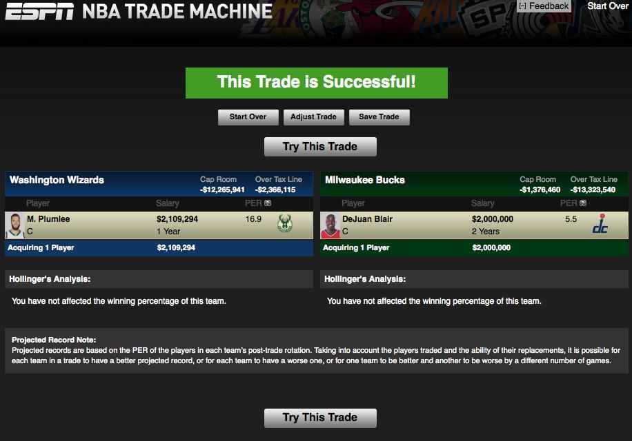 Trade Machine 1