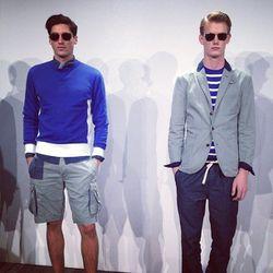 "Menswear! Image via <a href=""http://instagram.com/p/eFRDzXMy7a/#"">ginaleakelly</a>/Instagram."
