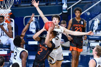 NCAA Basketball: Miami-Florida at Notre Dame