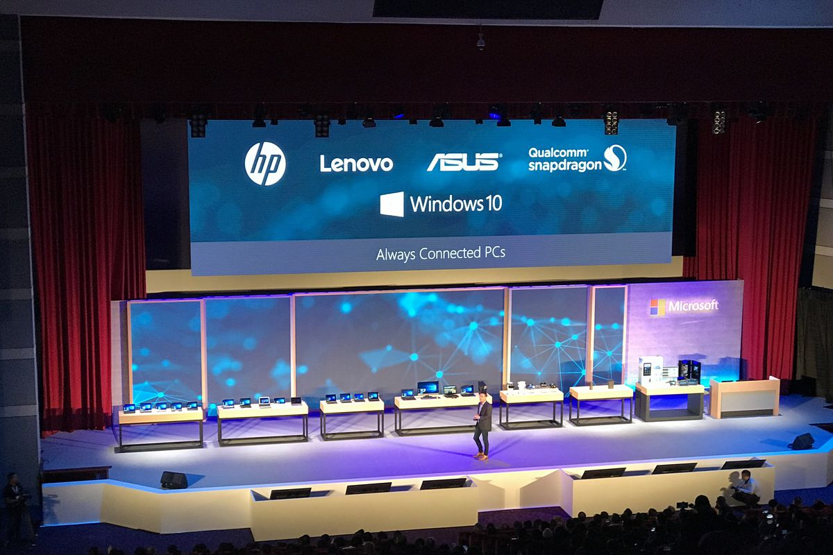 Asus, HP, and Lenovo will all build ARM-powered Windows 10