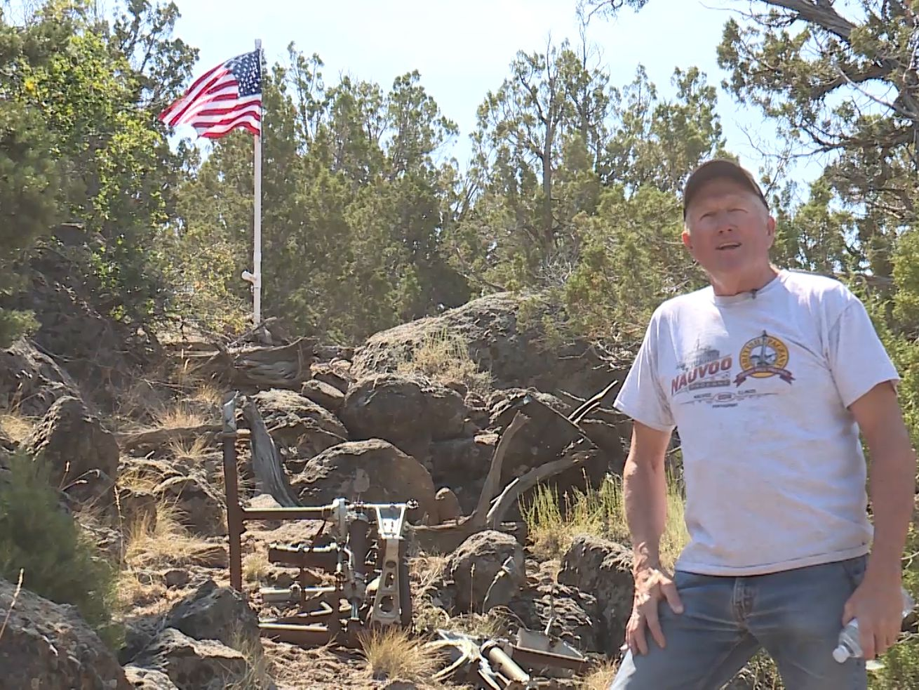 Researching WWII airplane crash sites in southern Utah has become one man's passion