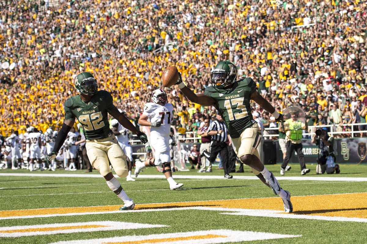 Baylor blasted UL-Monroe 70-7, and moved into the No. 14 spot