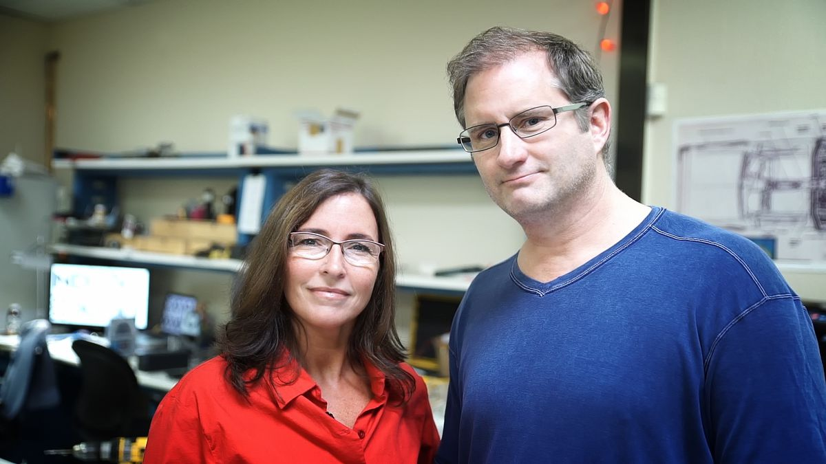 Jill Avery Henderson (left) and Greg Henderson, co-founders of Arx Pax.