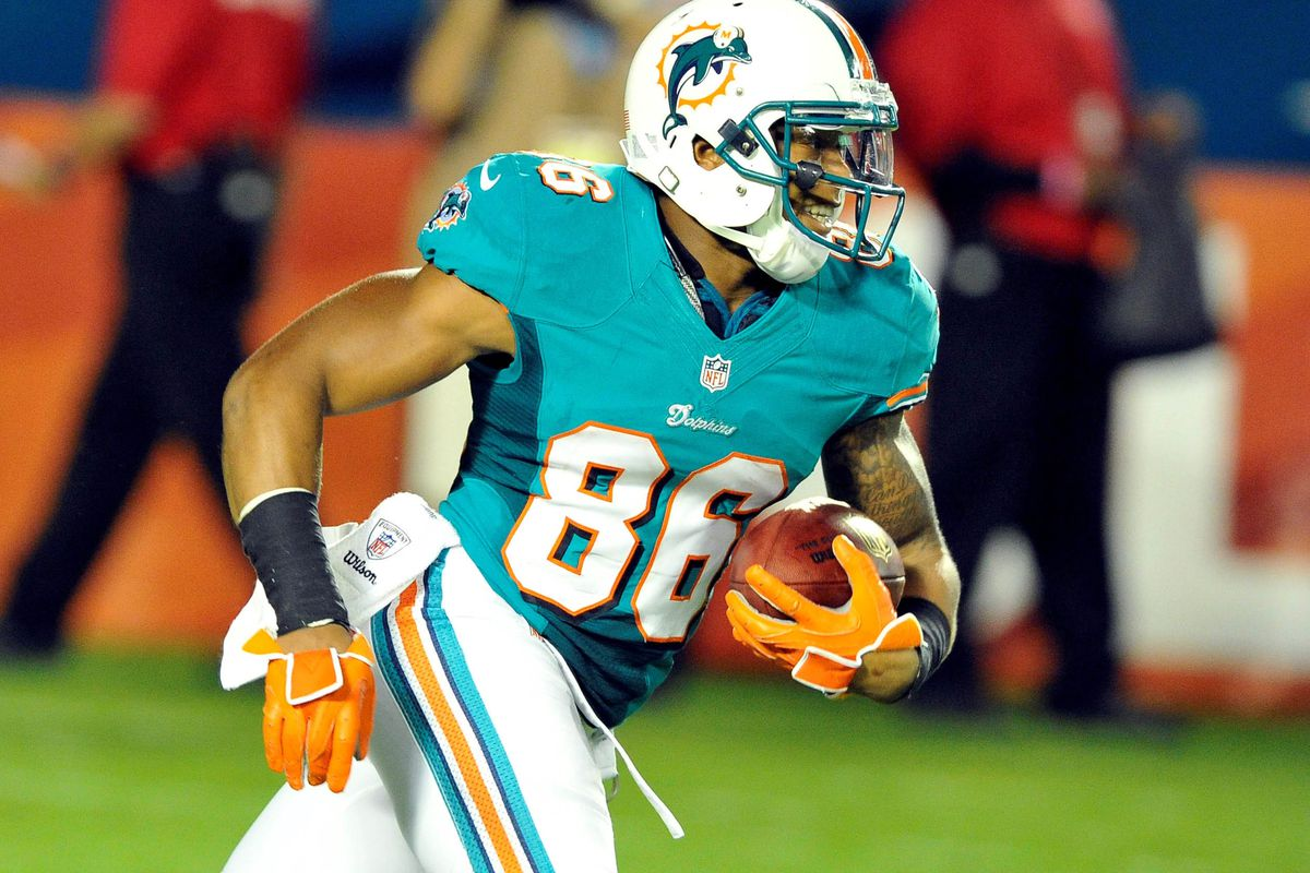 Rishard Matthews, one of the many wide receivers who has a chance to make this team now after the release of Chad Johnson.