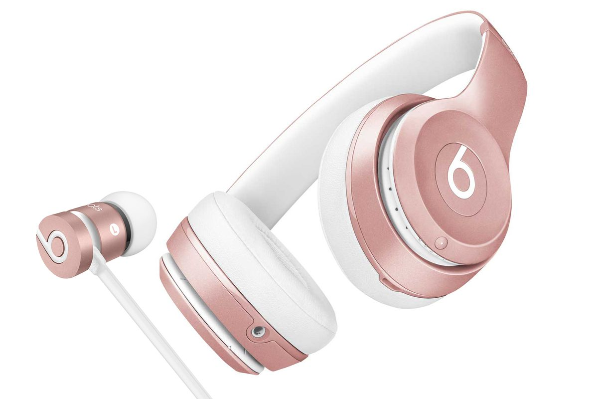 beats now makes rose gold headphones the verge. Black Bedroom Furniture Sets. Home Design Ideas