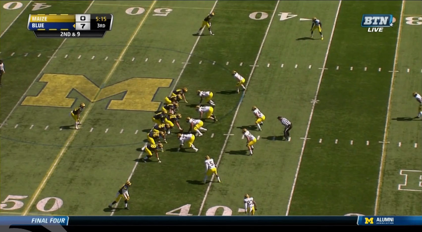 Morris Incomplete to Butt - 1
