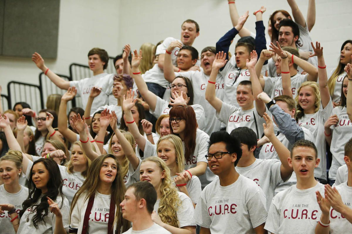 Herriman High School students attend a kick-off event for the newly formed Utah Anti-bullying Coalition, made up of educators and business people in Herriman  Friday, March 21, 2014.