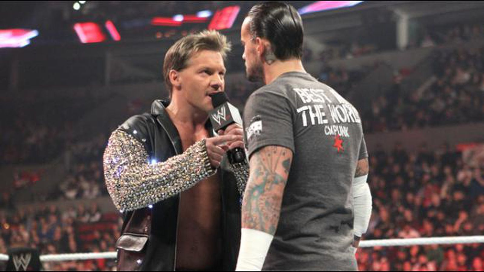 Chris Jericho Comments On CM Punk's 'revealing' Appearance ...