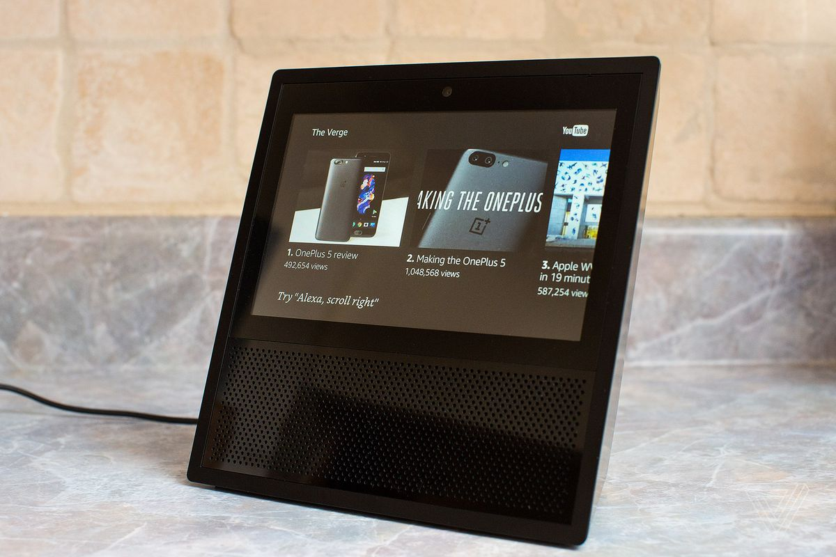 Youtube is back on amazons echo show the verge photo by amelia holowaty krales the verge ccuart Choice Image