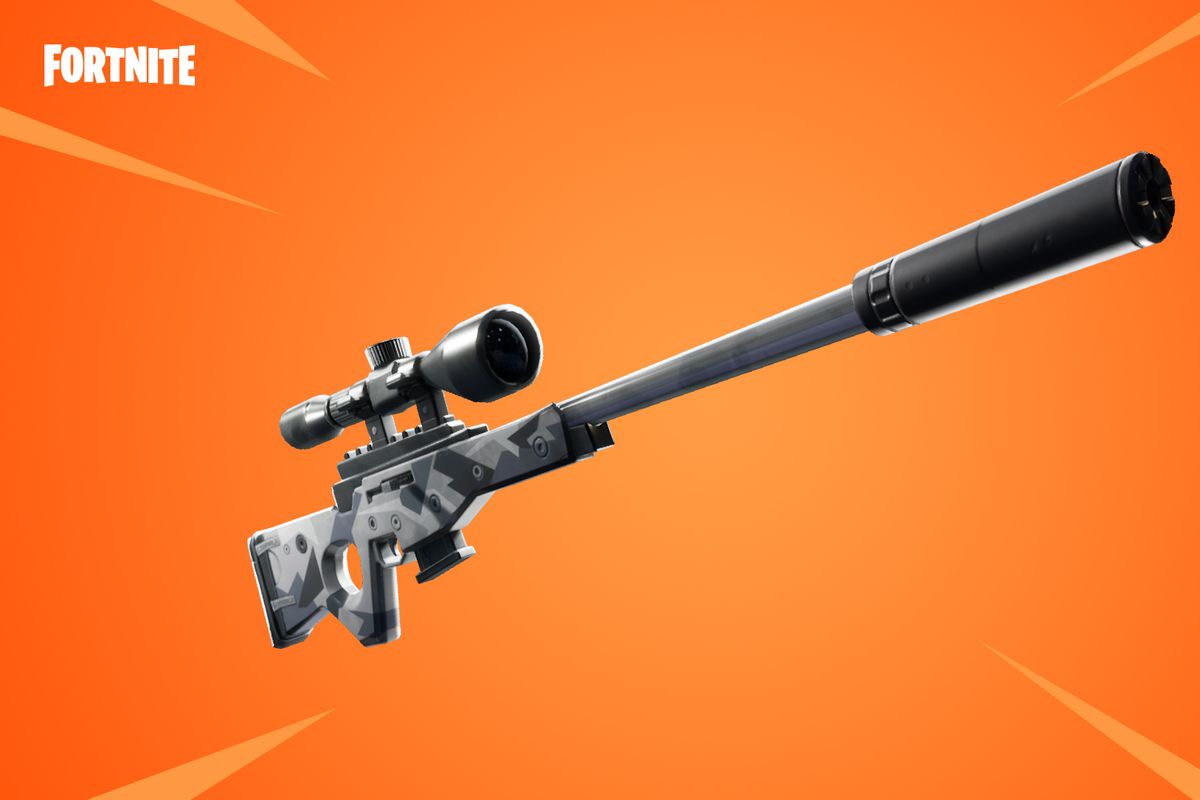 fortnite s last content update before the next patch brings new silenced sniper rifle - fortnite silenced smg stats