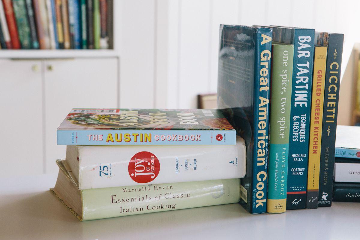 Cookbooks at Cookbook Cafe