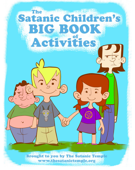 The Satanic Children's Big Book of Activities, brought to you by The Satanic Temple, www.thesatanictemple.org.