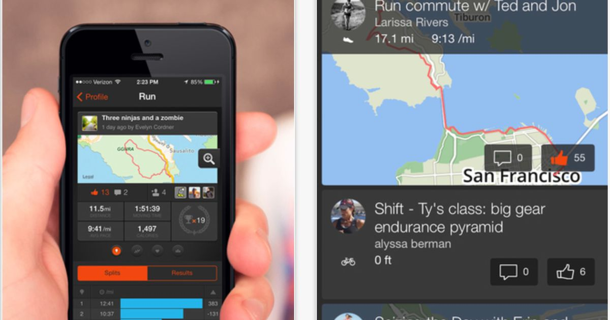 Cycling-Centric Fitness App Strava Raises $18 5 Million in