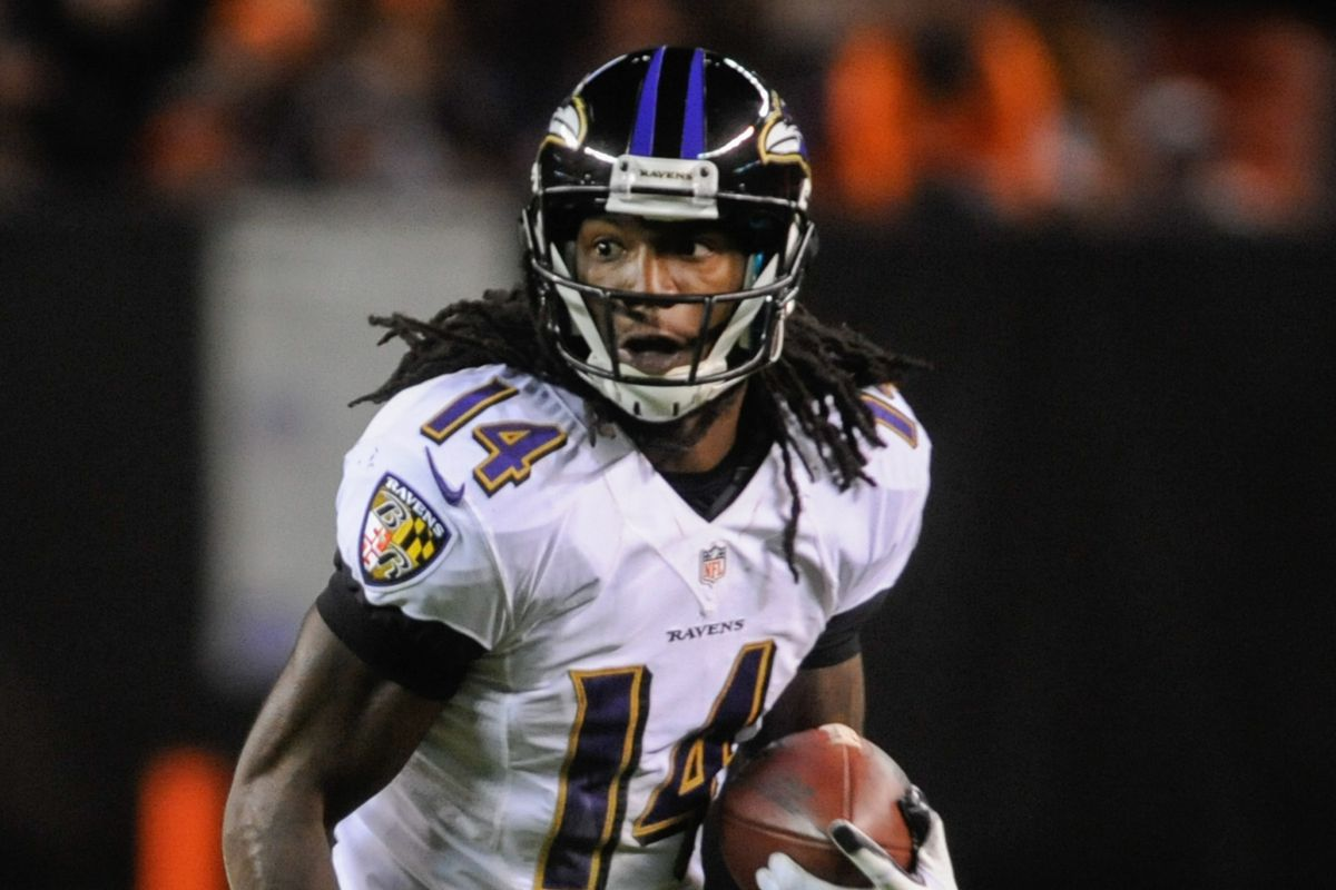 Expect Marlon Brown to have a major impact on Ravens' offense.