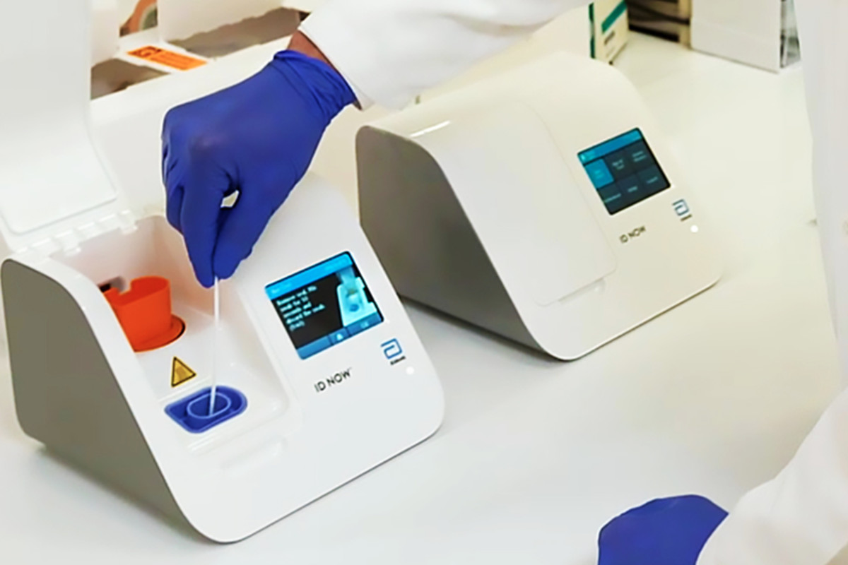 The U.S. Food and Drug Administrationissued Emergency Use Authorization to Illinois-based medical device maker Abbott Labs on Fridayfor a coronavirus test that delivers positive results in as little as five minutes and negative results in 13 minutes, the company said.