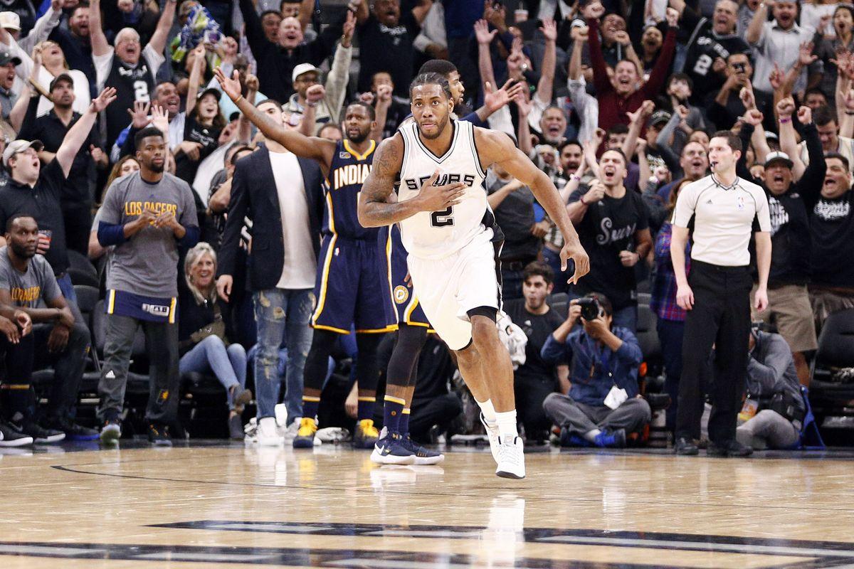 NBA: Indiana Pacers at San Antonio Spurs