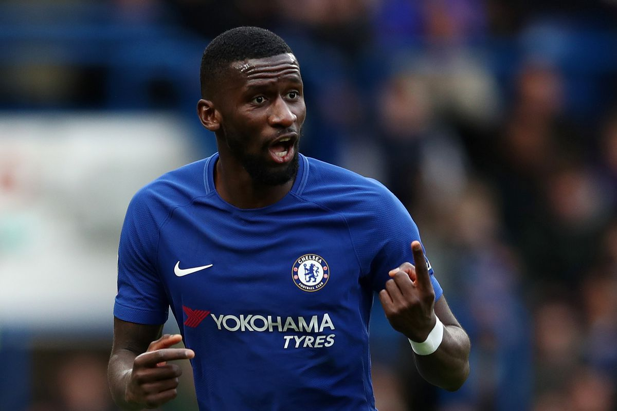 Chelsea defender Antonio Rudiger DROPPED for Southampton