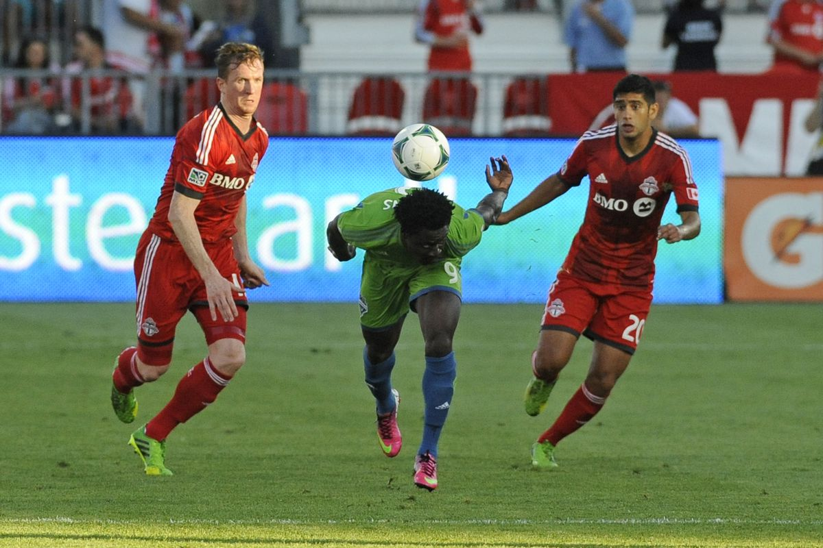 Three of the many candidates for 2013 MLS Newcomer of the Year